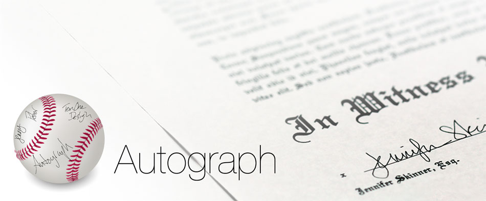 how to add signature to pages on mac