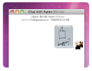 Even works with iChat
