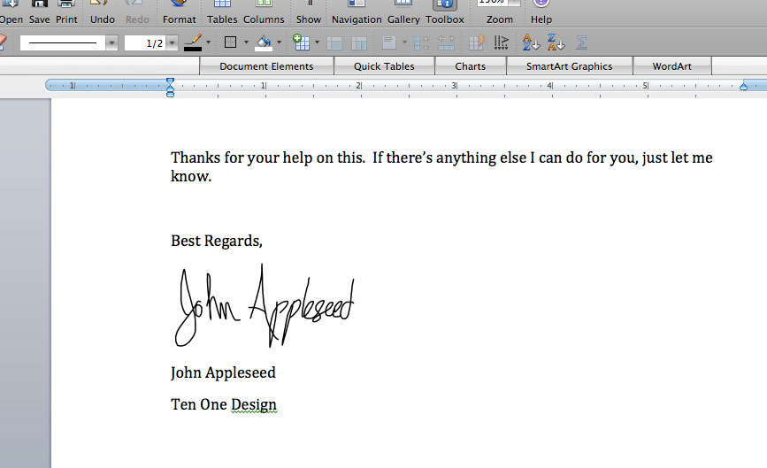 Autograph - Signature capture for Mac using your trackpad