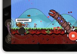 pd fling megaworm The Fling    Votre stick virtuel va devenir réel sur iPad