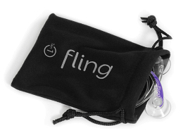 Fling with bag