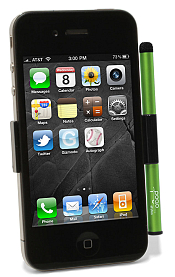iPhone 4 with Cactus Pogo Stylus