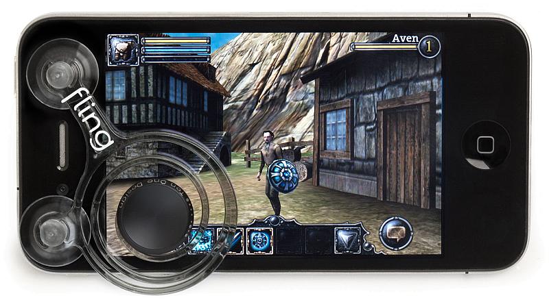 Fling mini Joystick for smartphones