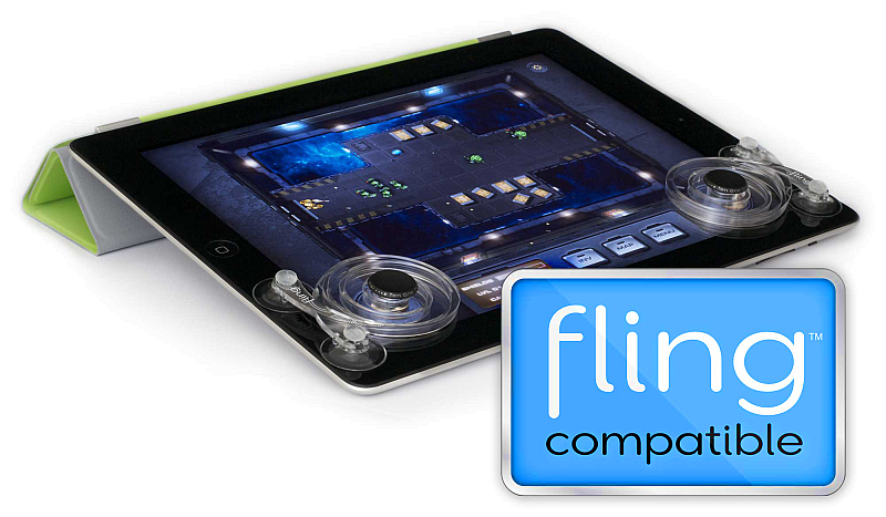 Fling - The best joystick for iPad and other tablets